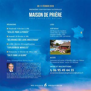 Rémy Bayle, Maison de Prière, première convention, Action Mondiale Evangélisation